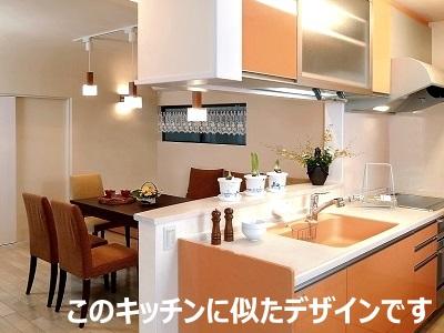 垂れ壁があるキッチンの写真