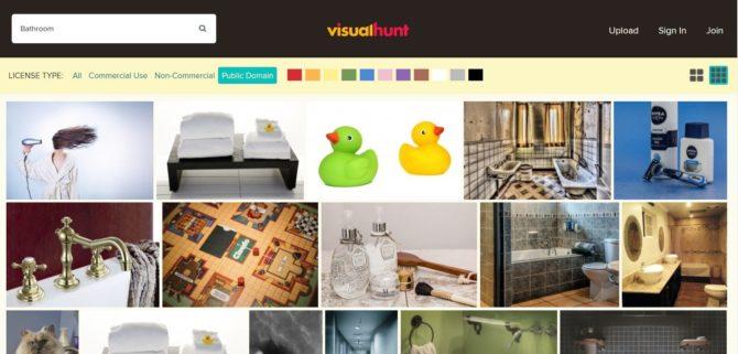 Visual Hunt イメージが