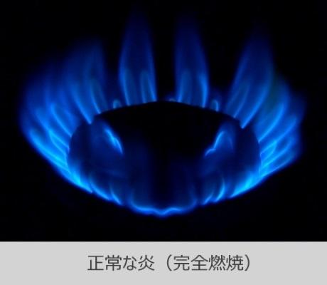 正常な炎の写真