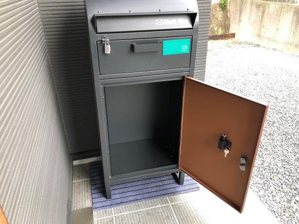 宅配ボックス一体型ポストの宅配扉を開けた画像