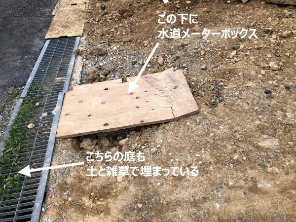 水道メーターボックスの画像